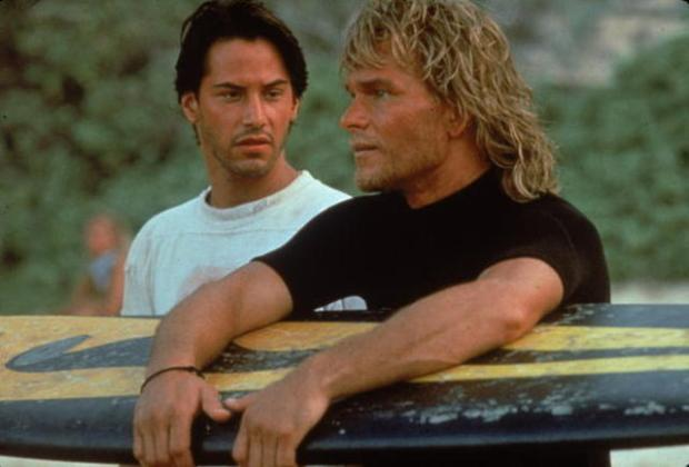 Reeves & Swayze In 'Point Break'